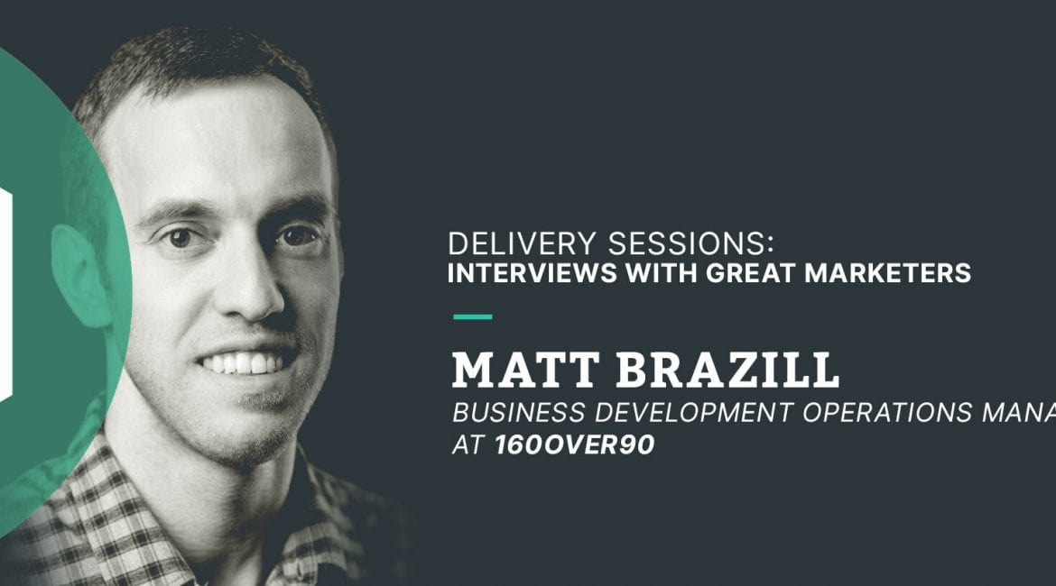 Delivery sessions Interviews with Great Marketers