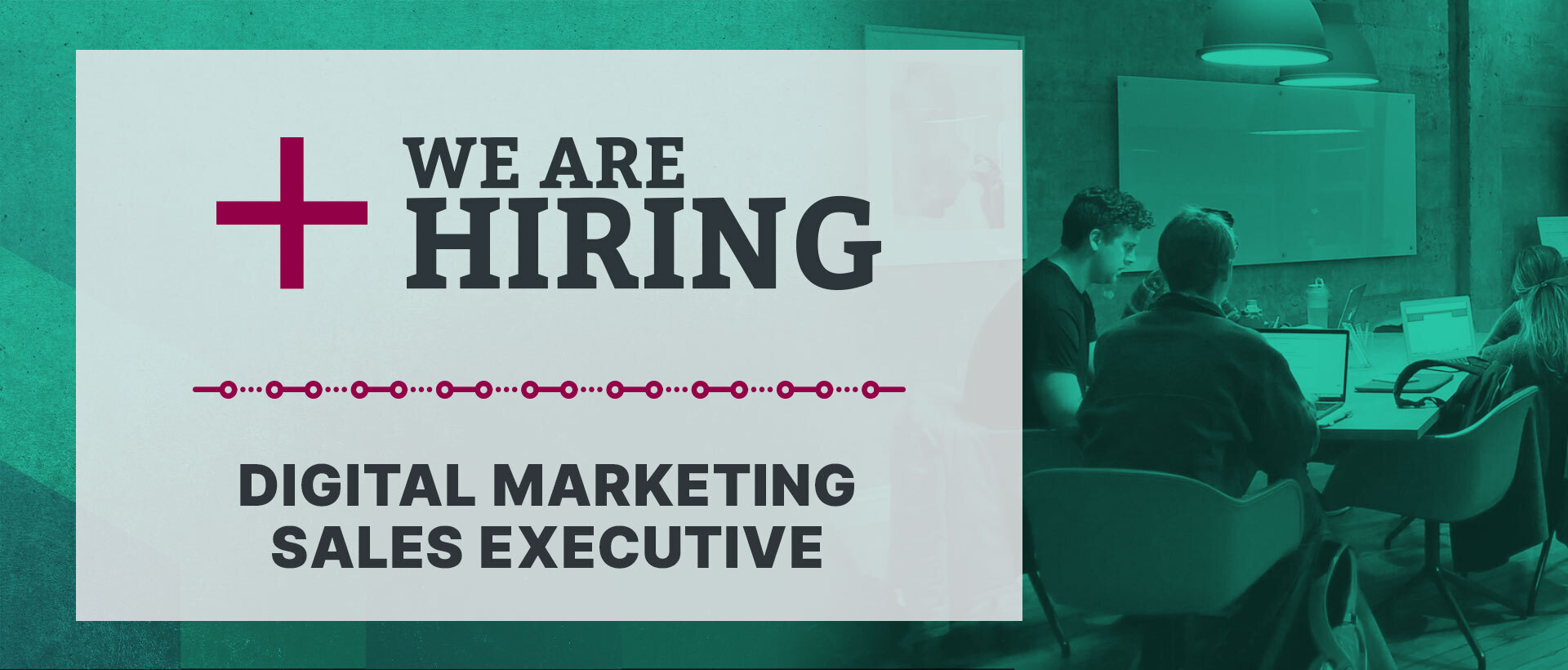 Hiring Creative Digital Marketing Sales Executive